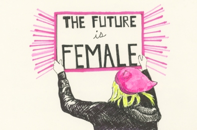the future is the female