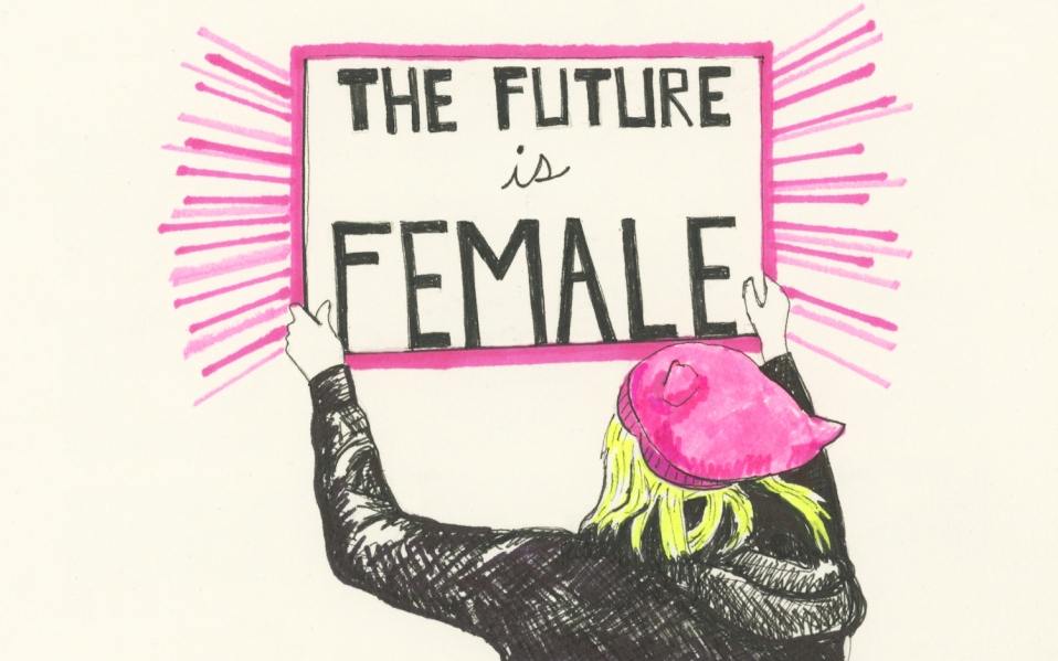 society6 feminist collection