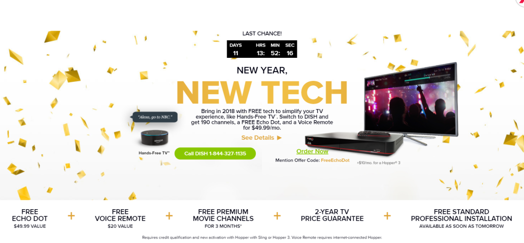 dish network deals promo code