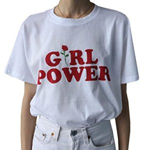 Girl Power T-Shirt by Farktop