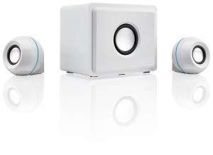 GPX HT12W 2.1 Channel Home Theater Speaker System
