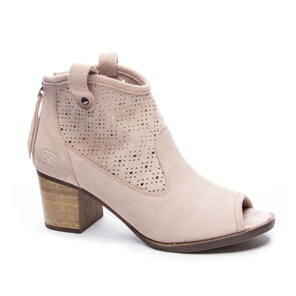 chinese laundry trixie peep toe bootie sale