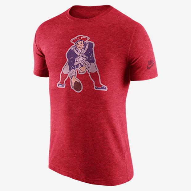 historic logo patriots tshirt