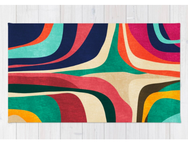 Society 6 impossible rug