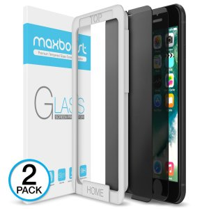 iPhone 8 Plus : 7 Plus Screen Protector, Maxboos