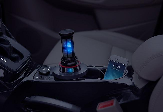 Star Trek Warp Core car charger