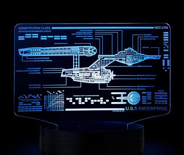 Star Trek Illuminated Display