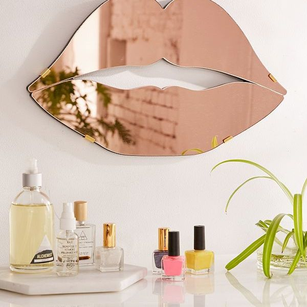 Lips Mirror by Urban Outfitters
