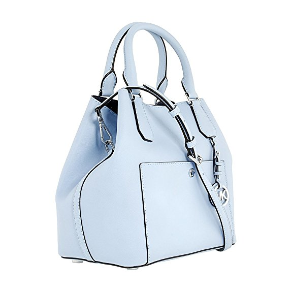 Michael Kors Greenwich Leather Shoulder Bag