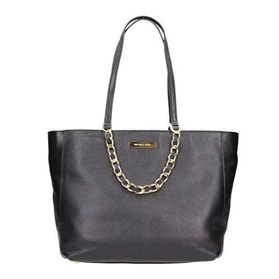 Michael Kors Harper Leather Tote Bag