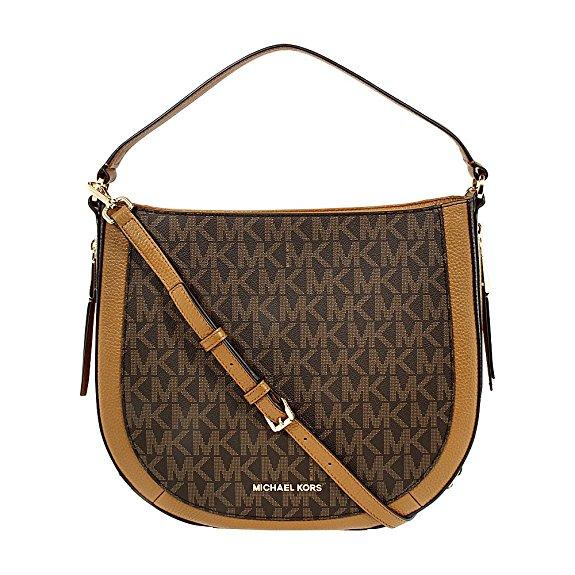Michael Kors Julia Leather Shoulder Bag
