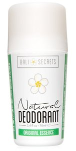 Natural Deodorant for Men and Women by Bali Secrets