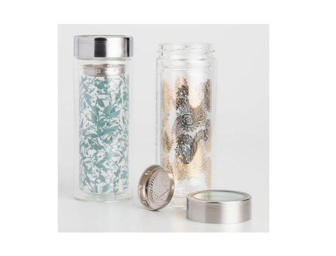 paisley floral infuser