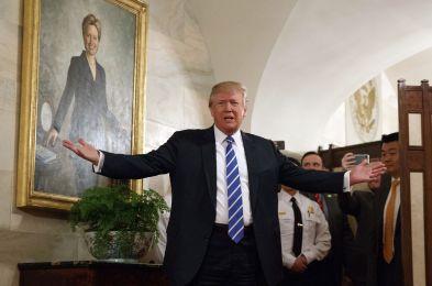 Trump, Washington, USA - 07 Mar 2017