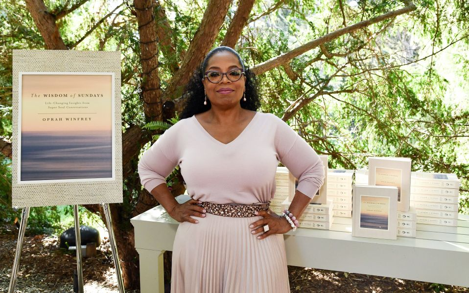 oprah wisdom of sundays launch