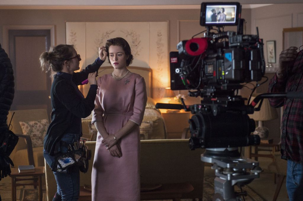 the crown behind the scenes claire foy