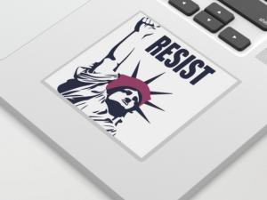 Resist Laptop Sticker Society6