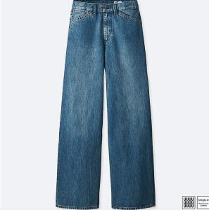 Wide Leg Jeans Women's Uniqlo