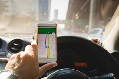 GPS head up device