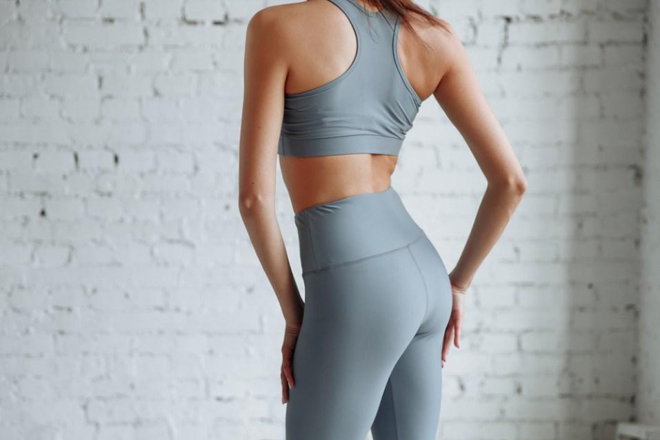 Women High Waist Yoga Leggings Capris Fitness Sport Gym Workout Athletic Pants