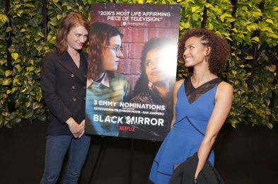 "Q&A for Emmy Nominated Limited Series ""Black Mirror: San Junipero"" at Netflix HQ, Los Angeles, USA - 18 Aug 2017"