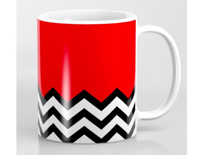 Society 6 Twin Peaks Mug