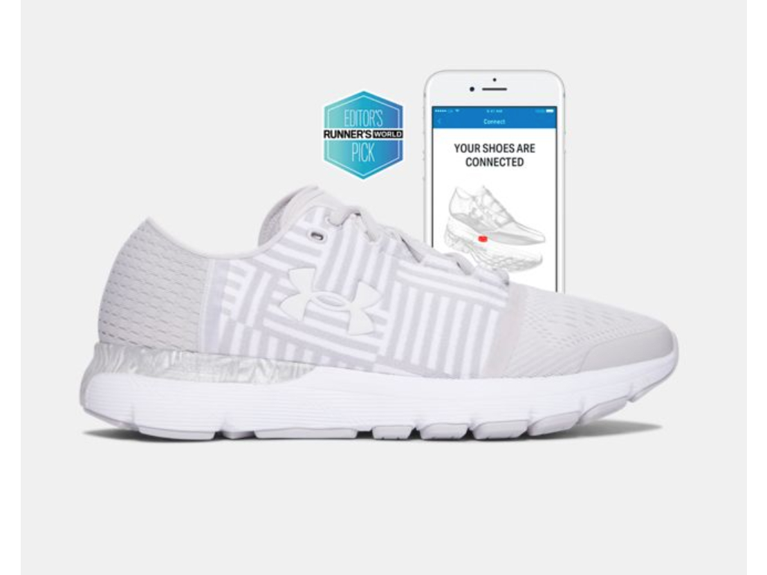 Fitness Tracker Sneakers: Under Armour