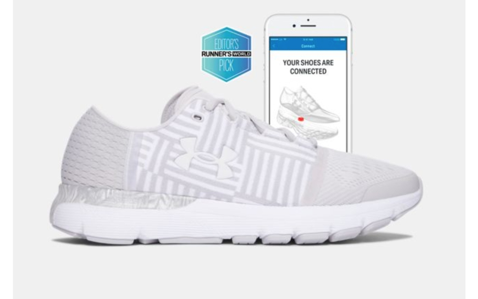 Fitness Tracker Sneakers: Under Armour Smart