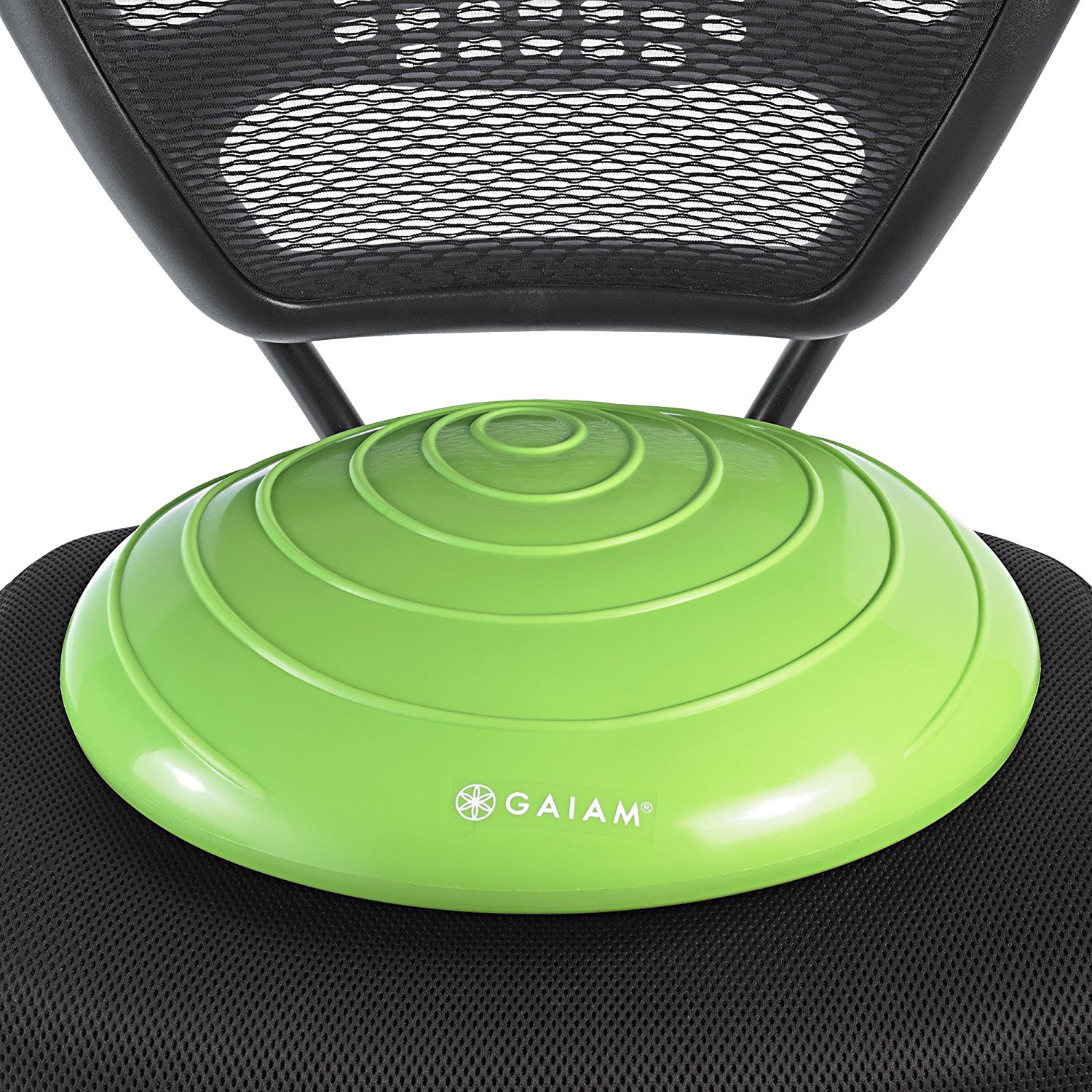 how to work out at work gaiam balance disc