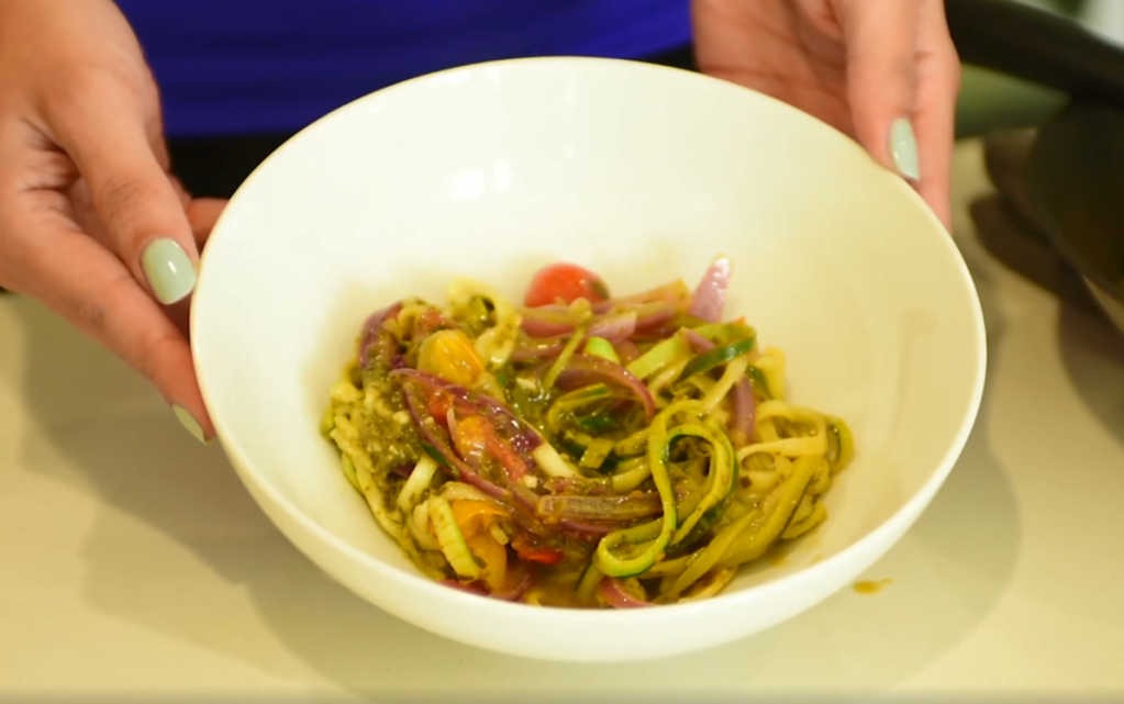 zucchini noodles how to make