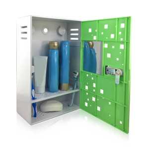 Bathroom Locker Shower Shelf