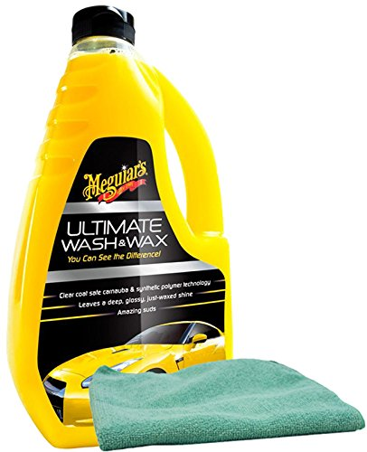 meguiar's ultimate wash and wax with cloth