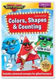 Colors Shapes Counting Rock N Learn