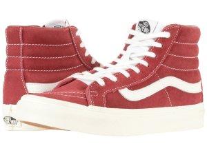 Red Sneakers Vans High Top
