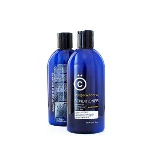 Blue Shampoo Bottle Dandruff