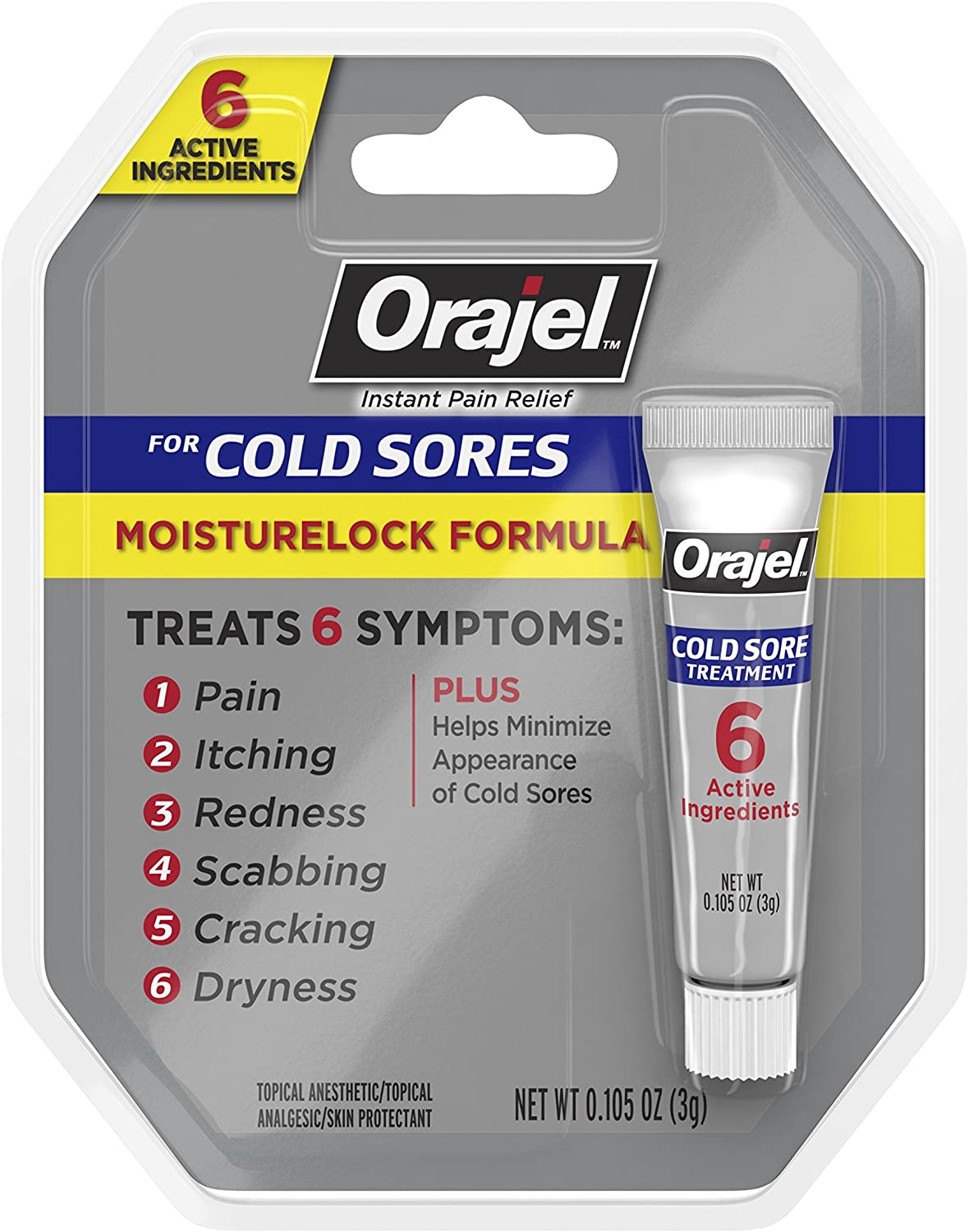 Cold Sore Treatment Orajel most embarrassing products
