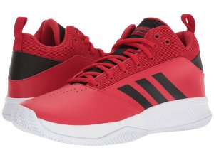 Red Sneakers Adidas Basketball