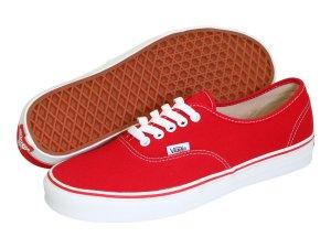Red Sneakers Vans