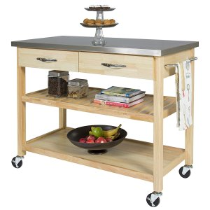 Stainless Steel Counter Kitchen Cart