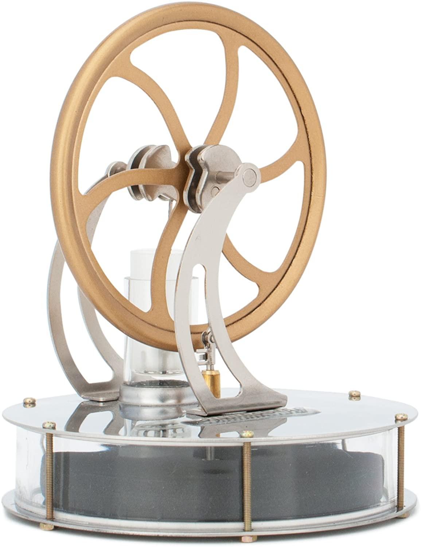 DjuiinoStar Low Temperature Stirling Engine; cool office supplies
