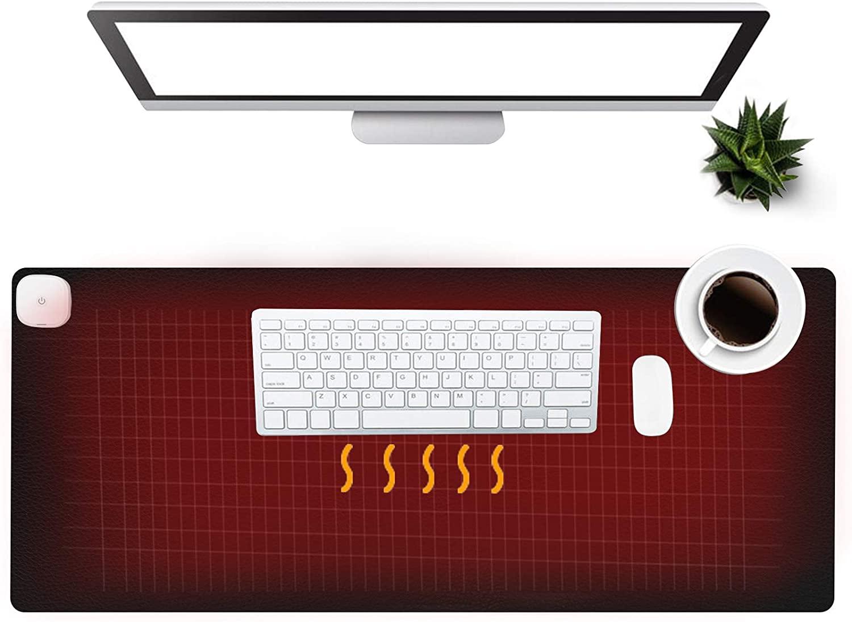 Olidik Warm Desk Pad; cool office supplies