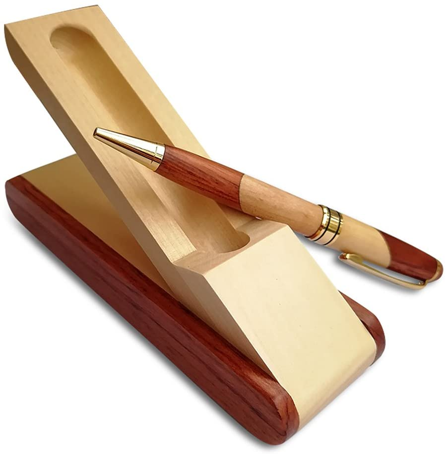 Renawe Luxury Wooden Ballpoint Pen; cool office supplies