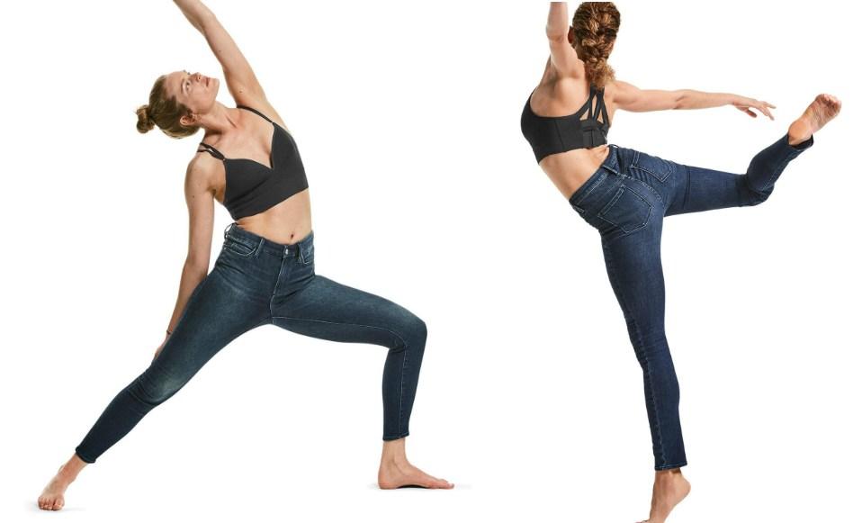 athleta sculptek jeans