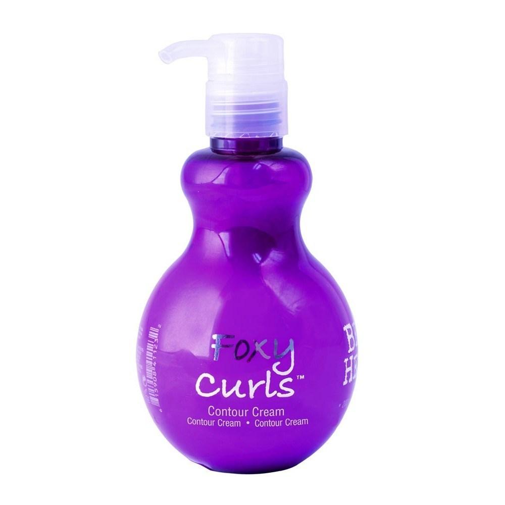 curly hair products manage curls foxy curls tigi contour cream bed head