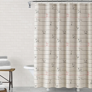 ED Ellen DeGeneres Animal Lines Shower Curtain