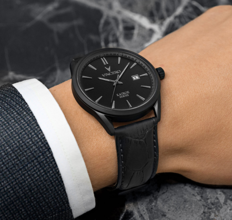 vincero watches kairos collection review