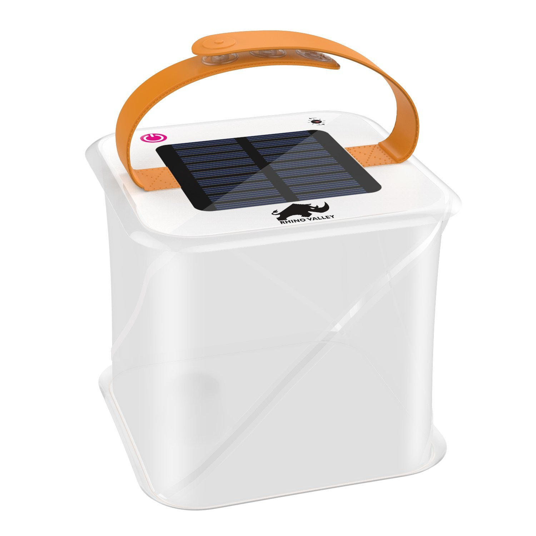 solar flashlight best options under $20 collapsible box lantern