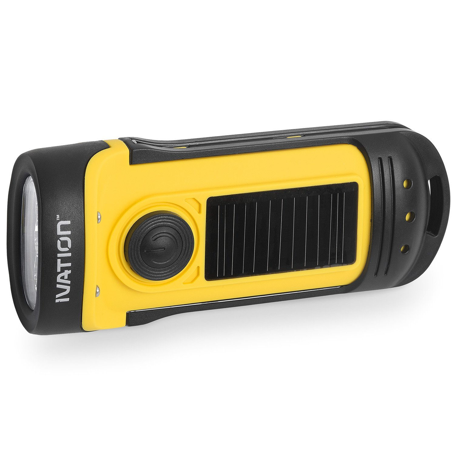 solar flashlight best options under $20 ivation rechargeable waterproof hand cranking