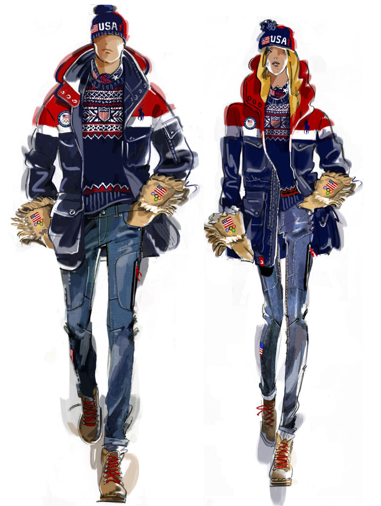 ralph lauren olympic team collection