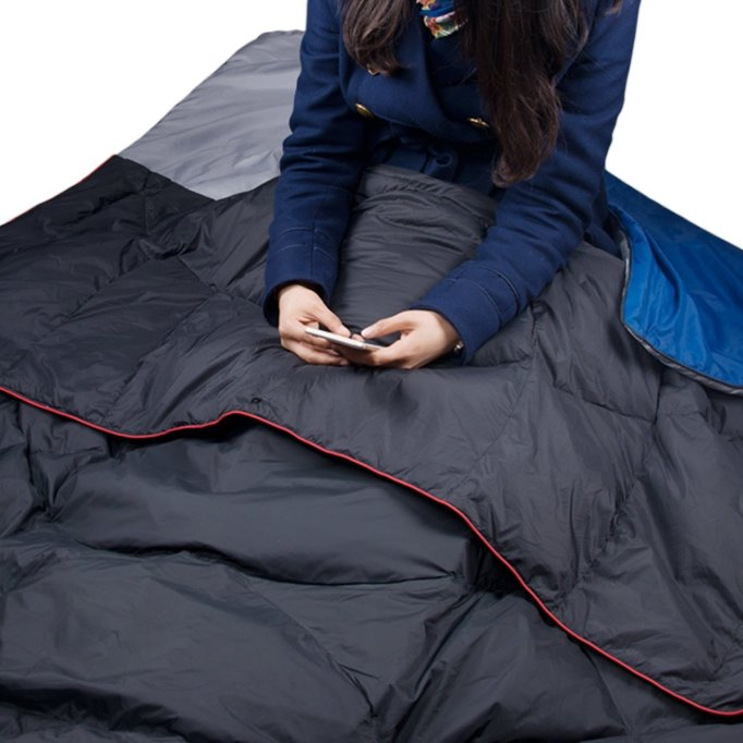 battery blanket heated sleeping bag cold camping winter
